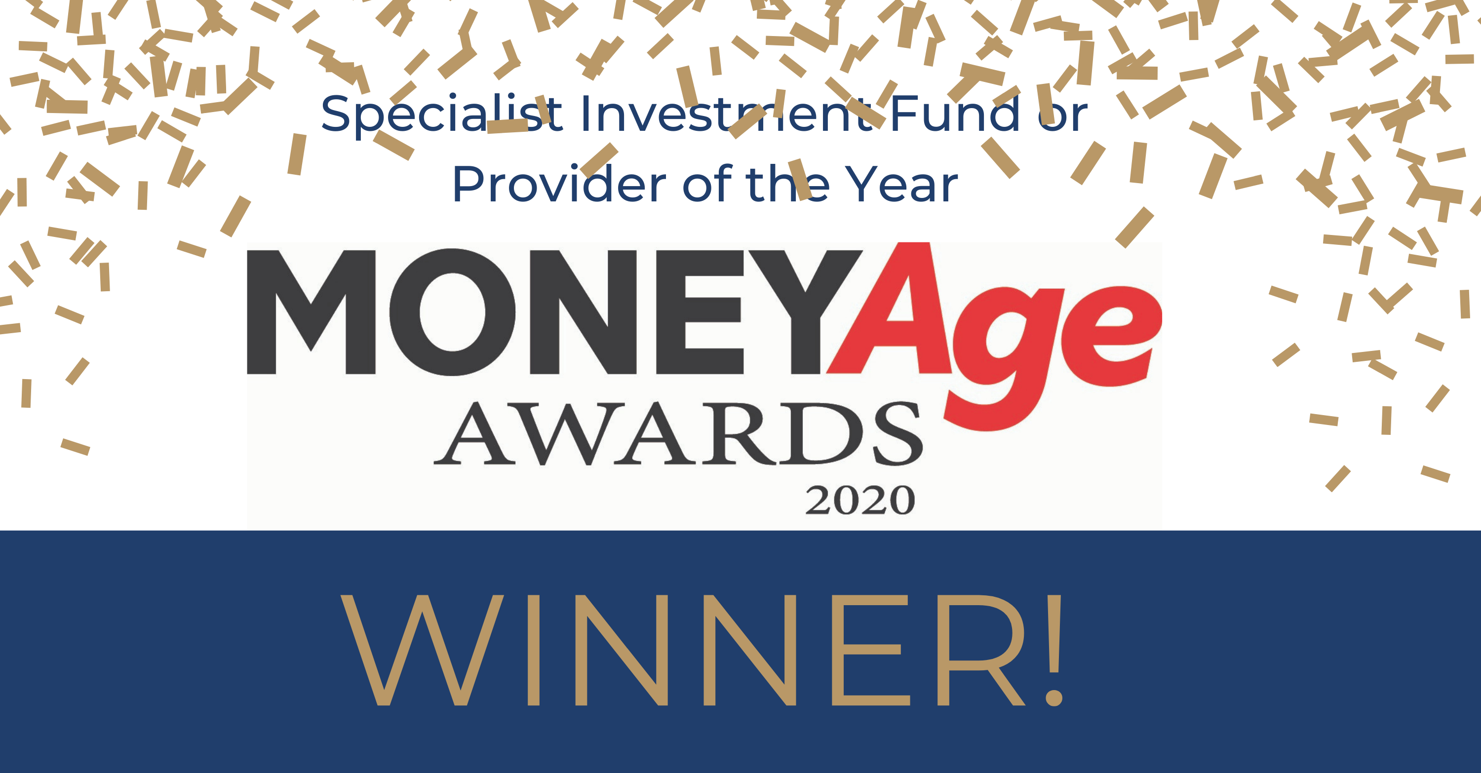 CapitalRise are crowned Specialist Investment Provider of the Year