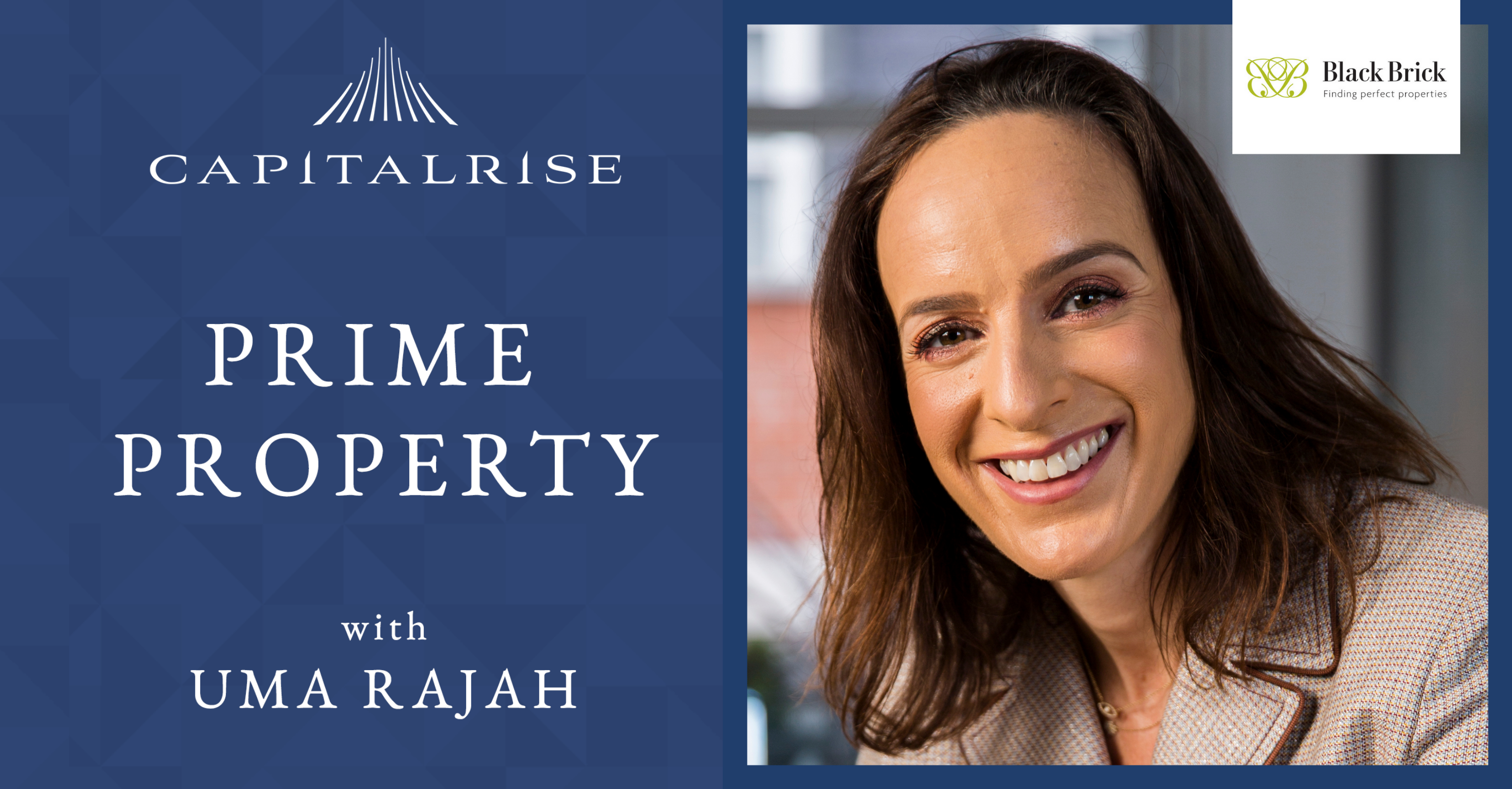 Prime Property Podcast with Uma Rajah featuring Camilla Dell