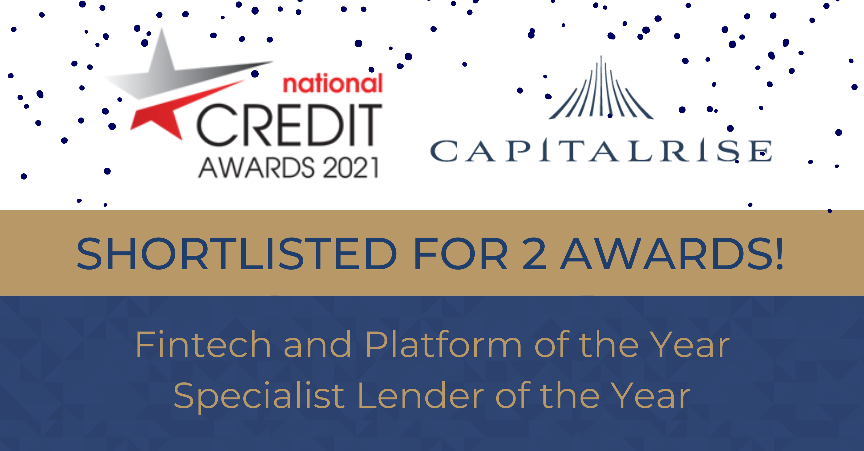 CapitalRise shortlisted in 2 categories at National Credit Awards 2021